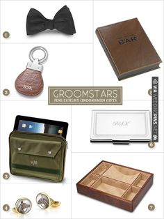 Groomstars fine luxury groomsmen gifts | CHECK OUT MORE IDEAS AT WEDDINGPINS.NET | #bridesmaids