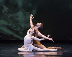 """April Daly and Fabrice Calmels in """"Othello"""". Photo by Cheryl Mann"""