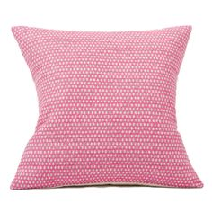 Merino Lambswool Cushion – Made in England – Classic Clarendon Grey on Hot Pink Cushion - Tori Murphy Ltd Luxury Cushions, Pink Cushions, Pink Grey, Hot Pink, Simple Prints, Throw Pillows, House Styles, England, Classic