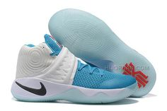 "75c40b7168ba Nike Kyrie 2 ""Xmas"" White Blue Lagoon Omega Blue Obsidian"