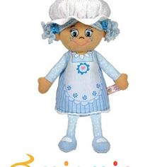 Little Miss Muffin Little Miss - Sugar - Doll Shopaholic Plush Dolls, Doll Toys, Dolls Dolls, Toys Uk, Bear Doll, Little Miss, Smurfs, Cinderella, Disney Characters