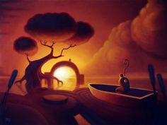 "Threyda | Art & Goods | ""Waiting For Rain"" J. Slattum  24 x 32 inches"