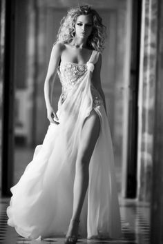 A sexy wedding dress.