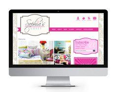 Sophia's Closet website design and development, by The Savvy Socialista.