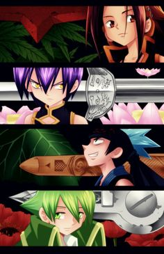 Shaman King: Warriors by Hao-Hime