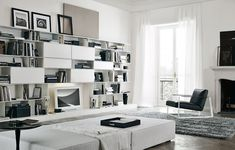 Wall storage systems | Storage-Shelving | Skip | Poliform. Check it out on Architonic