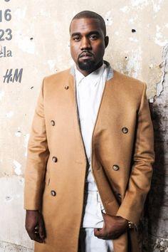 Camel coat and Kanye