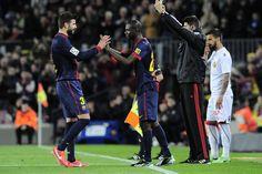 Barça-Mallorca: piel de gallina en el regreso de Abidal