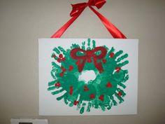 christmas wreath art