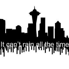 Seattle Skyline tattoo by Pyrosia.deviantart.com