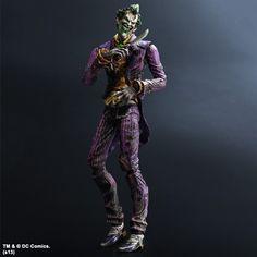 Batman Arkham City Play Arts Kai Action Figure Joker 24 cm