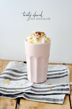 toasty almond hot chocOlate