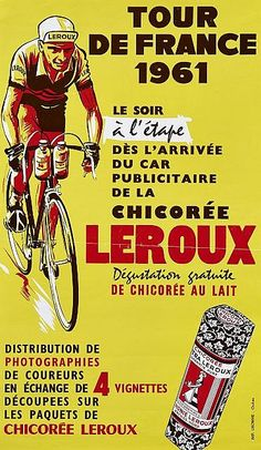 Tour de France - Chicorée Leroux - 1961 -