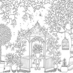 Secret Garden by Johanna Basford | 16 Colouring Books That Are Perfect For Grown-Ups