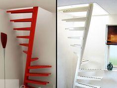 Las escaleras más extrañas del mundo.