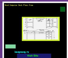Wood Computer Desk Plans Free 134157 - The Best Image Search