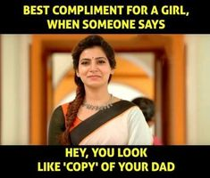 Appa ❤ # love that compliment u papa to the square of infinity Father Daughter Love Quotes, Love My Parents Quotes, Mom And Dad Quotes, Crazy Girl Quotes, Funny Girl Quotes, Sister Quotes, Woman Quotes, Papa Quotes, Quotes On Father