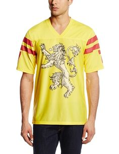 5a1745c9ed3 HBO S Game of Thrones Men s Got Lannister Football Jersey T-Shirt