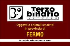 Oggetti e animali smarriti in provincia di Fermo