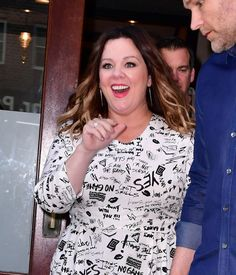 Ghostbusters actress Melissa McCarthy looks sensational as she ...
