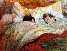 Henri Toulouse-Lautrec, Le lit, 1893