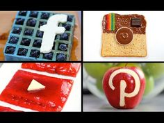 Social Media Breakfast Set! All your Favourite Apps as a Meal - My Cupcake Addiction - YouTube