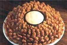 BLOOMING ONIONS  Outback Steakhouse Copycat Recipe   These are one of my favorite appetizers at Outback Steak House. They look complic...