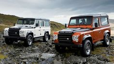 Land Rover Defender Fire & Ice editions