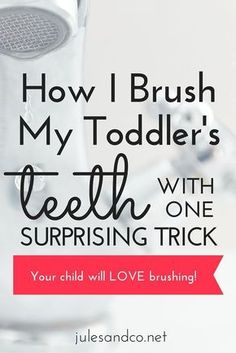 Do you dread tooth-brushing battles with your toddler? I've got a surprising trick to make your child love brushing his teeth. It's simple, silly, and IT WORKS!