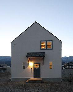 三角屋根の素敵なお家