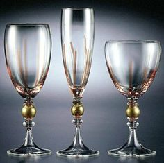 Seguso Viro Ca? Rezzonico Wine Glass . $252.00. Seguso stemware with its combination of colors and techniques, represents the glamour and luxury of the most sophisticated Murano glass. Intertwining innovation and tradition, each pattern in the collection is named after one of the palaces of Venetian nobilty, Ca? Rezzonico being one such lavish residence. Material: Hand-blown Murano glass Size: Water Glass: 9.38 in Flute: 10.5 in Wine Glass: 8.75 in Care: Handwashing recommended ...