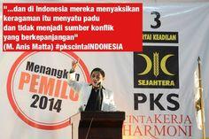 """PKSmarsela : """"Persatuan adalah modal besar bangsa ini. Dan #pkscintaINDONESIA menjaganya"""""""