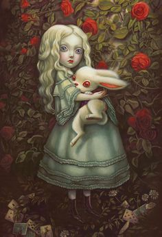 benjamin lacombe alice wonderland - Google Search