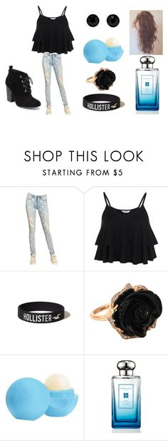 """""""Dinner outfit."""" by camryn360 ❤ liked on Polyvore featuring Marc by Marc Jacobs, Miss Selfridge, BCBGeneration, Hollister Co., Irene Neuwirth, Eos, Jo Malone and Givenchy"""