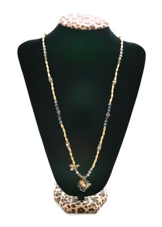 Wear both silver & gold with this layerable beaded necklace!