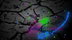 I can do magic! by Daniel Dogeanu Free Desktop Wallpaper, Mobile Wallpaper, Green Backgrounds, All Art, Purple, Blue, Magic, Color, Google Search