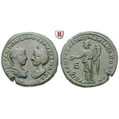 NEW  Römische Provinzialprägungen, Thrakien-Donaugebiet, Markianopolis, Julia Maesa, Großmutter des Elagabal, Bronze, ss+:… #coins