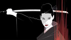 O-Ren-Ishi, Kill Billl Fan art by Craig Drake