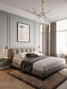 Trendy home decoration modern interior decorating Contemporary Bedroom, Modern Bedroom, Trendy Bedroom, Master Bedroom, Kitchen Contemporary, Contemporary Fireplaces, Bedroom Classic, Rustic Fireplaces, Contemporary Wallpaper