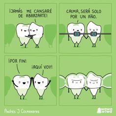 El problema de los dientes        Gracias a http://www.cuantocabron.com/   Si quieres leer la noticia completa visita: http://www.estoy-aburrido.com/el-problema-de-los-dientes/