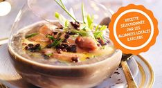Velouté de lentilles au foie grasVoir la recette du Velouté de lentilles au foie gras >>