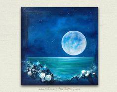 Chasing Dreams/Original Acrylic Mixed Media by TerraArtGallery