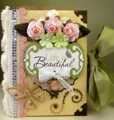 Life is Beautiful~ Premade Interactive Scrapbook Album *Adriana*