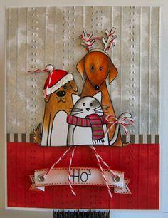 Simon Says Stamp Blog!: Have Yourself A FURRY Little Christmas