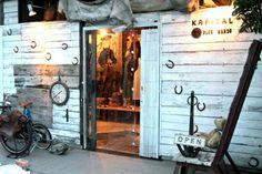 Cult clothing store Kapital in Ebisu.