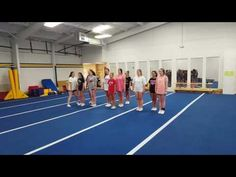 Competition jump sequence - YouTube