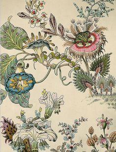 Japanese Fantasy Flowers print
