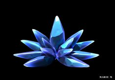 ArtStation - Final Fantasy Inspired Crystal, Marie-Michelle Pepin