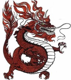 Chinese New Year 2015 The Year Of The Snake.Lunar New Year's Eve or Chuxi the last day of the year is one of the most important traditional Chinese holidays Tribal Dragon Tattoos, Chinese Dragon Tattoos, Dragon Tattoo Designs, Dragon Fight, 7th Dragon, Tiger Tattoo, Arm Tattoo, Samoan Tattoo, Polynesian Tattoos