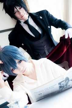 Ciel Phantomhive (Black Butler) by Kuromitu - WorldCosplay
